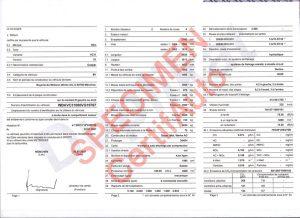 Certificat de conformité voiture